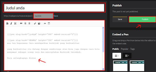backlink pada situs