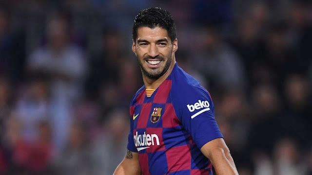 Luis Suarez báo tin cực vui cho Barcelona