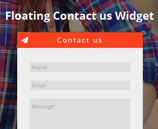 Ajouter Contactez Nous pour Blogger Html Css