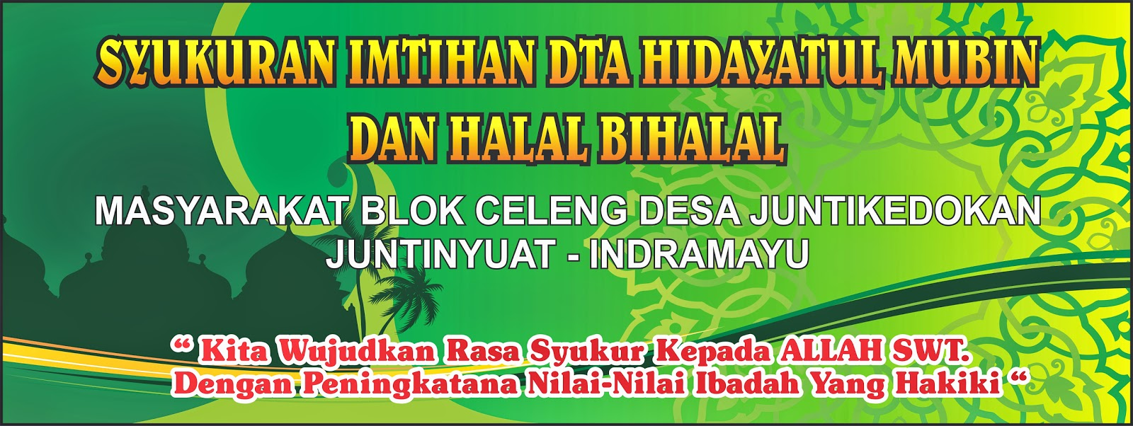 Banner Halal Bi Halal Cdr Joy Studio Design Gallery