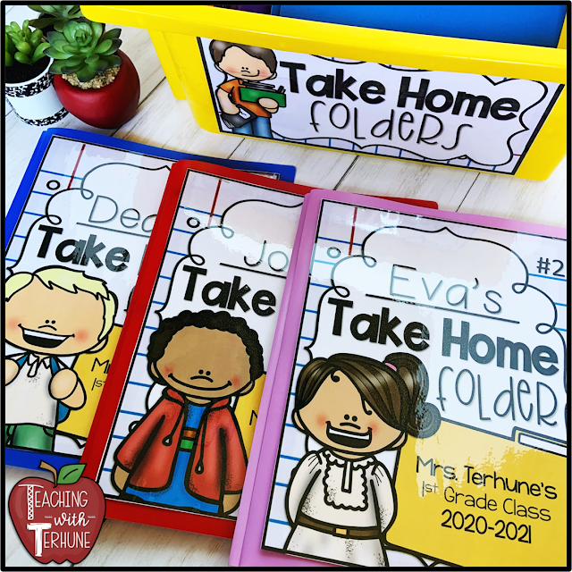 Take Home Folder Covers