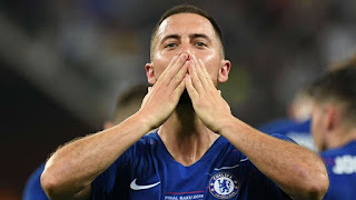I Think It Is Goodbye' - Hazard Bids Farewell To Chelsea After Europa League Win