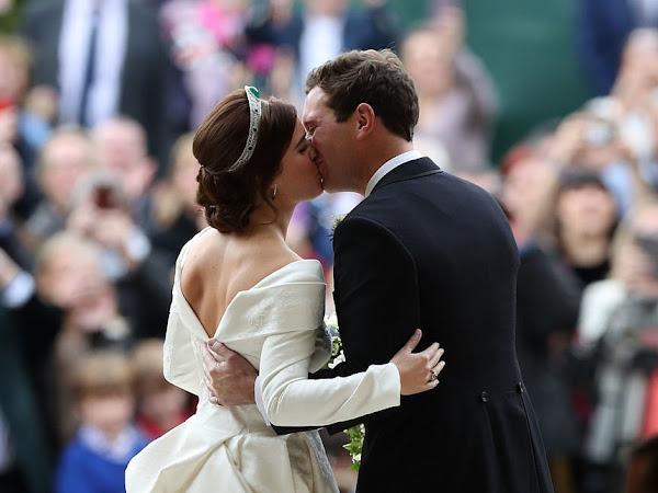 Aktualizacja: Ślub księżniczki Eugenie i Jack'a Brooksbank.