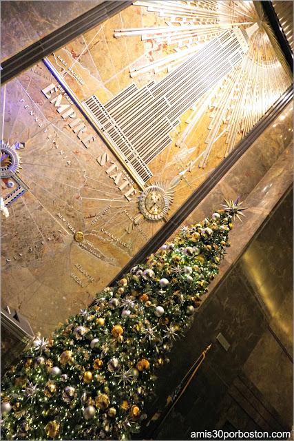 Árbol de Navidad del Empire State Building, Nueva York