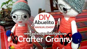 Cómo tejer una Abuelita de Manualidades Amigurumi Crochet / Tutoriales