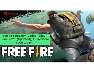 Free Fire Redeem Codes Today