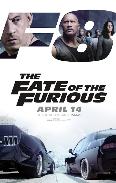 Poster of The Fate of the Furious 2017 Dual Audio 720p BluRay With ESubs Download