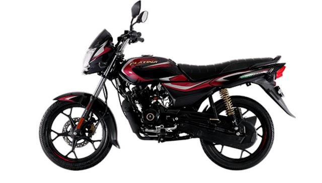 Bajaj auto launch Platina 100 BS6 upgrade.