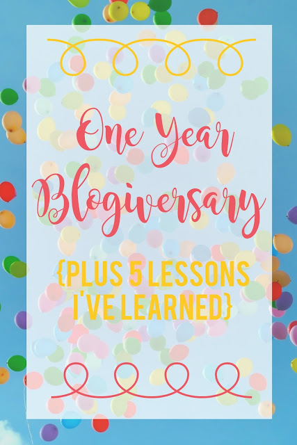 Blogging is not for the faint of heart!  This is just one of the 5 lessons I've learned over the last year.  Click through to see the other 4!
