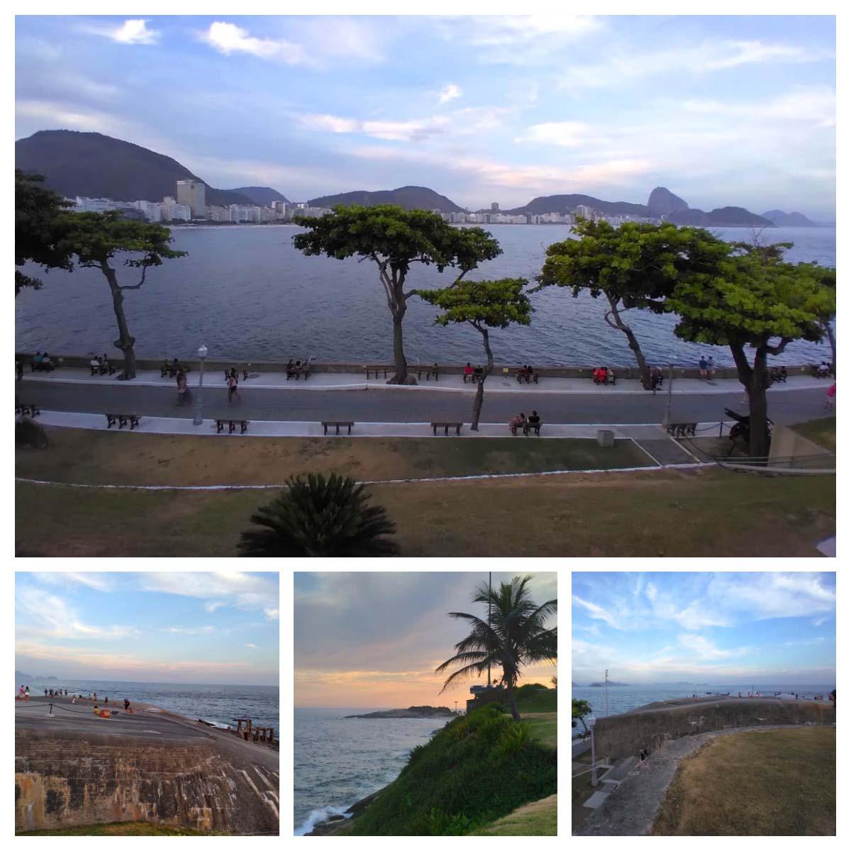 Mirante do Forte Copacabana no Rio de Janeiro