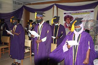 FUTMINNA CODeL Matriculates Pioneer Students 2019/2020