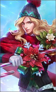Lancelot Christmas Carnival Heroes Assassin of Skins V3