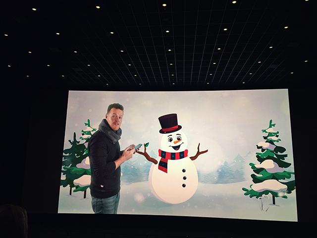 spelletje bioscoop frozen2