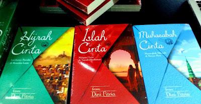 Trilogi Novel Islah Cinta yang ditulis oleh DiVa