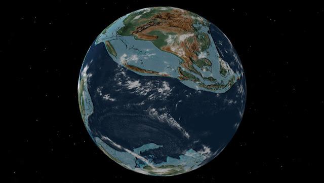 Crean un mapa de la deriva continental que muestra en qué lugar de la Tierra estaba su ciudad hace 750 millones de años
