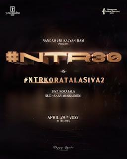NTR Jr and Koratala Siva's Next Movie