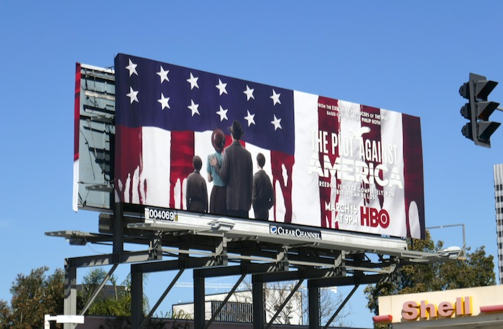 Plot Against America series launch billboard