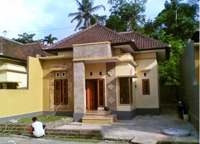 ツ 53 Model Desain Rumah Minimalis Sederhana Di Kampung