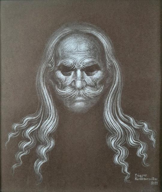 Θεόδωρος Κολοκοτρώνης  Πίνακας από ... Τον πίνακα φιλοτέχνησε ο Γεώργιος Κωνσταντινίδης