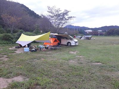 須原親水広場キャンプ場