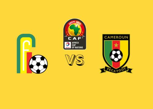 Benín vs Camerún  Resumen