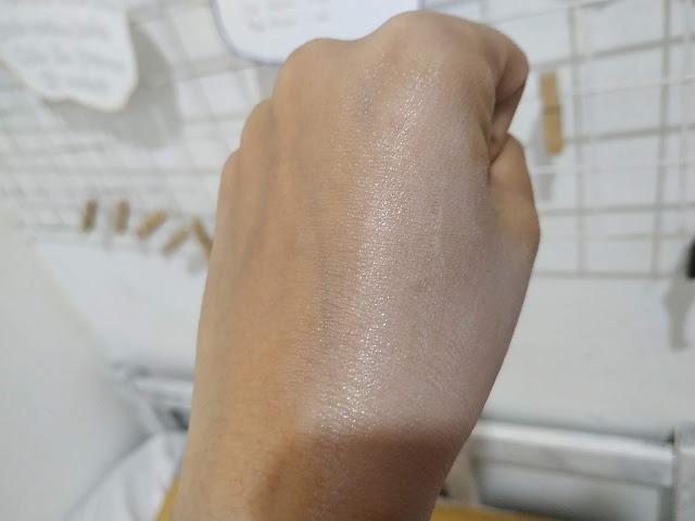 langsre whitening setelah di blend