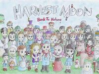 Tanggal Ultah & Kesukaan Penduduk Harvest Moon Back To Nature