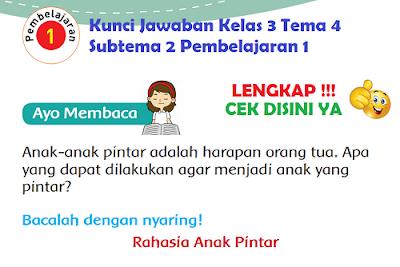 Kunci Jawaban Kelas 3 Tema 4 Subtema 2 Pembelajaran 1 www.simplenews.me