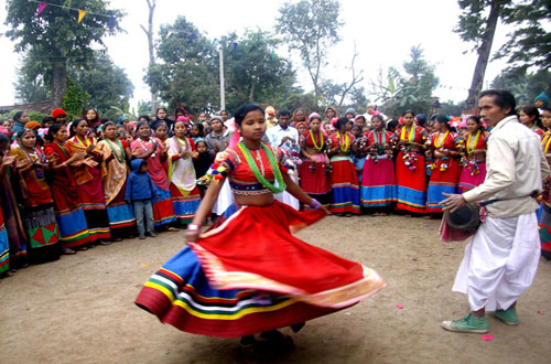 Tharu Cultural Dance during Maghi Festival