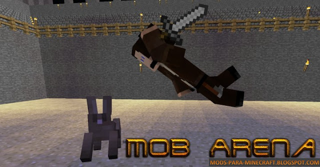 Arena - The Minecraft Challenges Mod para Minecraft 1.8