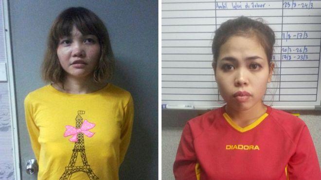 Two women plead not guilty to killing Kim Jong-nam