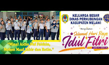 Keluarga Besar Dinas Perhubungan Melawi Mengucapkan Selamat Hari Raya Idul Fitri