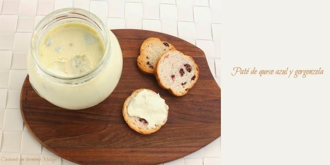 Paté de queso azul y gorgonzola