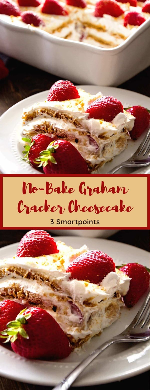 No-Bake Graham Cracker Cheesecake