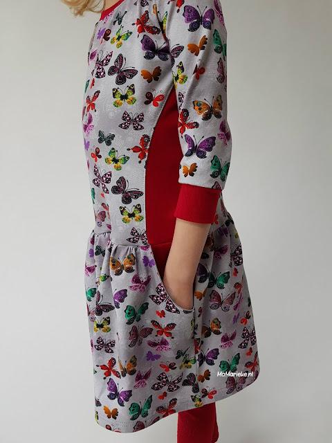 zakken Foras jurk Sofilantjes gerimpelde rok MaMarieke