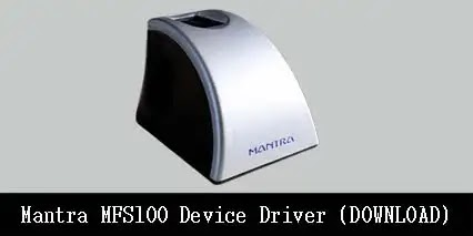 Mantra MFS100 Device Driver download