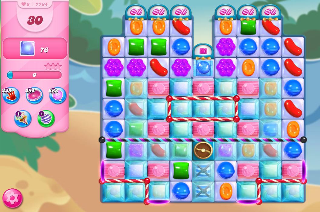 Candy Crush Saga level 7784