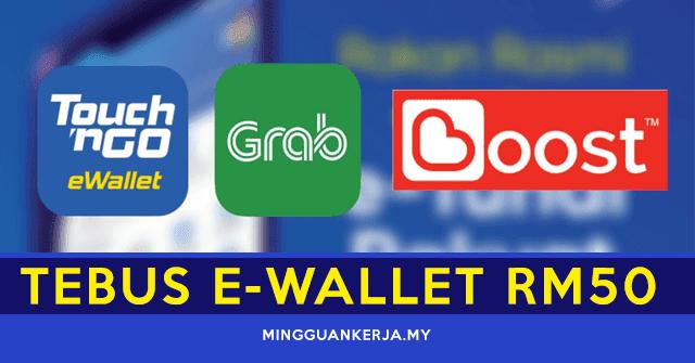 Dah Boleh Tebus! Cara Mudah Tebus E-Wallet RM50 Kredit Tambahan ePenjana
