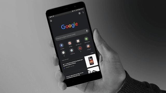 طريقة تفعيل الوضع الليلي في متصفح جوجل كروم - Google Chrome Dark Mode