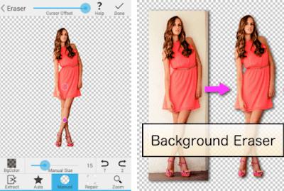 تطبيق Background Eraser