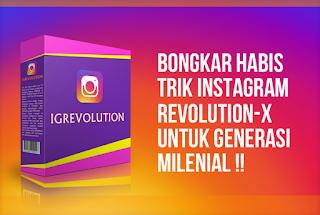 Bongkar trik instagram revolution-x untuk generasi milenial