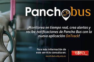 9 rutas Panchobus gratuitas y exclusivas para la comunidad USFQ