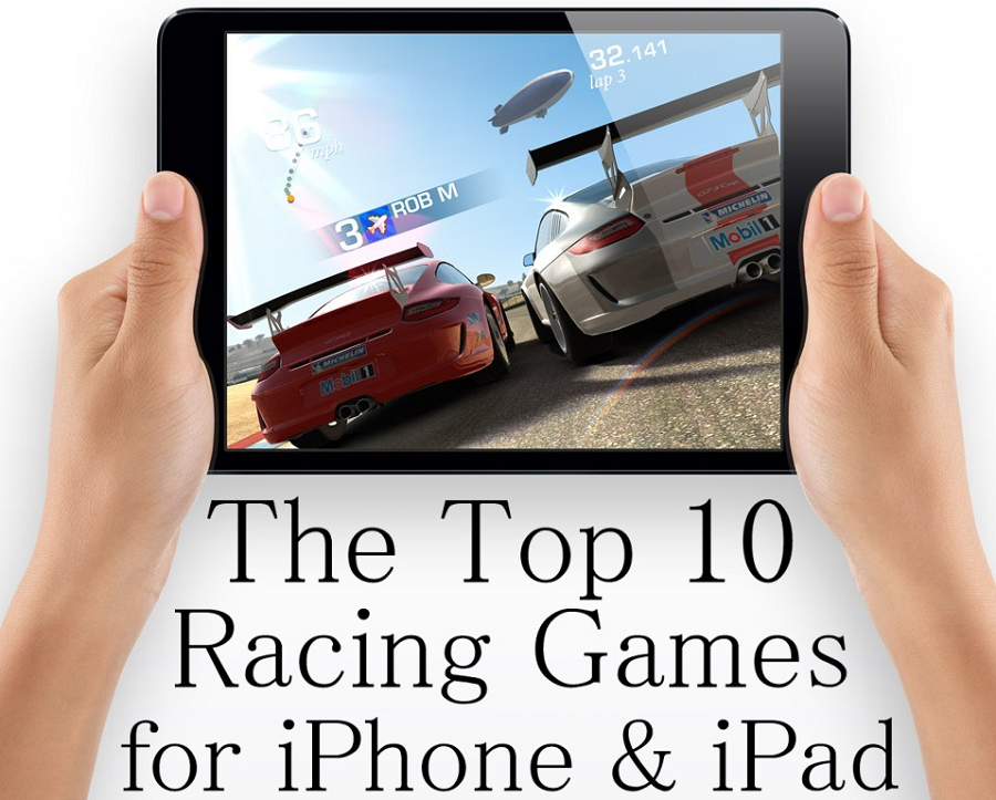 Top 10 Most-Played iOS Racing Games 2014 for iPhone. iPad & iPod Touch