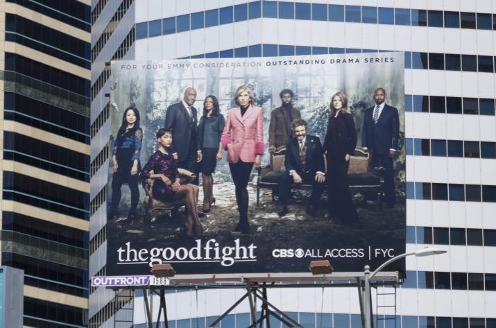 Good Fight season 3 Emmy consideration billboard