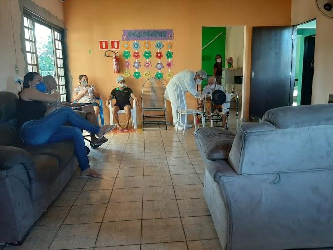 Prefeitura realizou testes rápidos no Abrigo dos Idosos, Petrofurt e Polo Centro