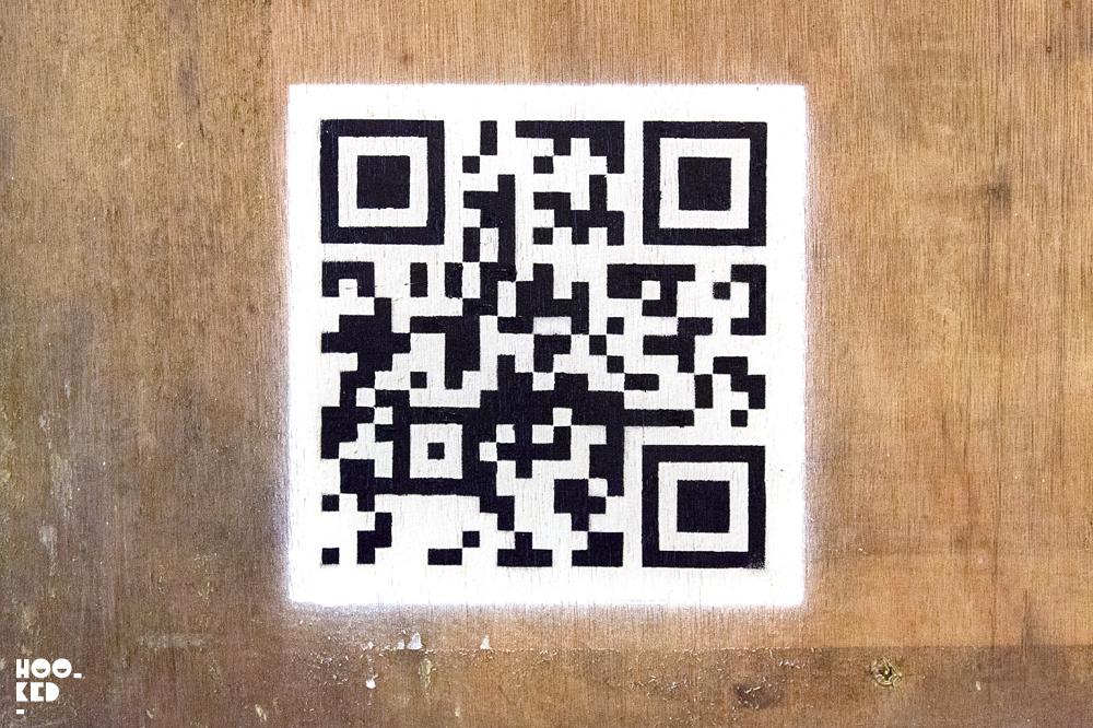 Banksy London Street Art QR code