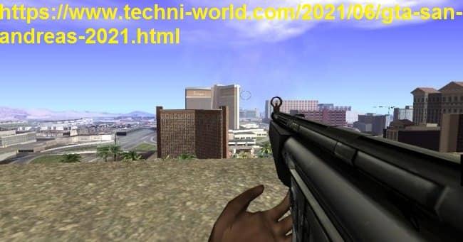 تحميل لعبة GTA San Andreas جاتا سان اندرس نسخة اصلية لعام 2021