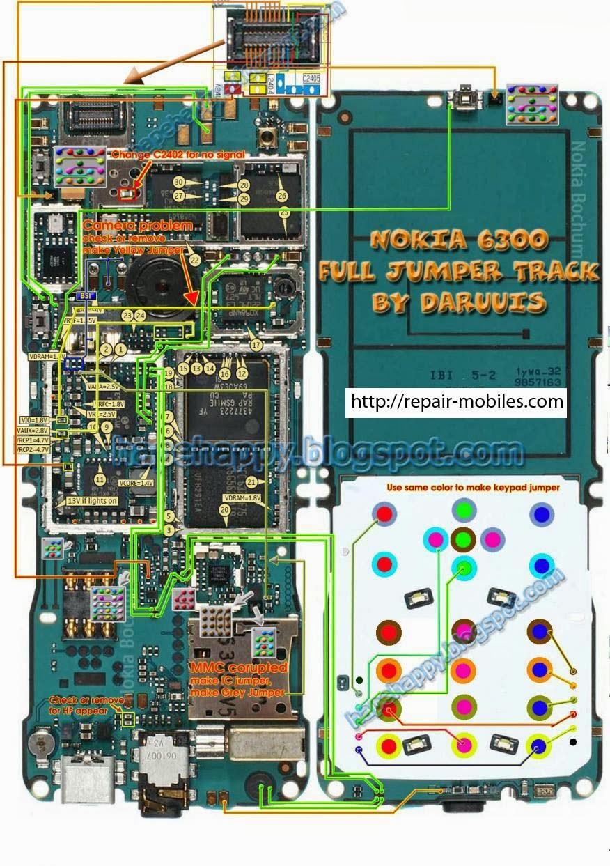 Nokia Mobile Repairing Jumper Book
