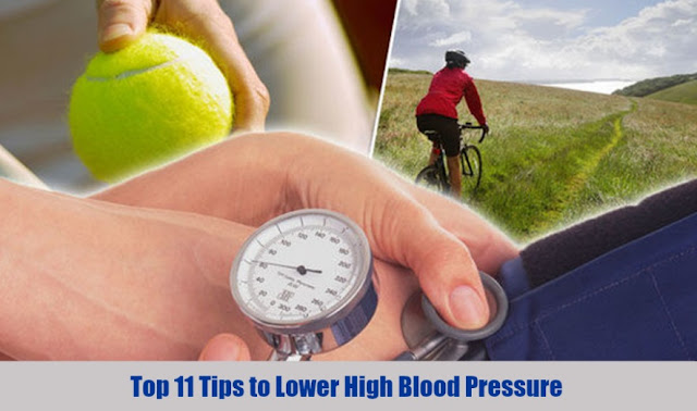 Top 11 Tips to Lower High Blood Pressure