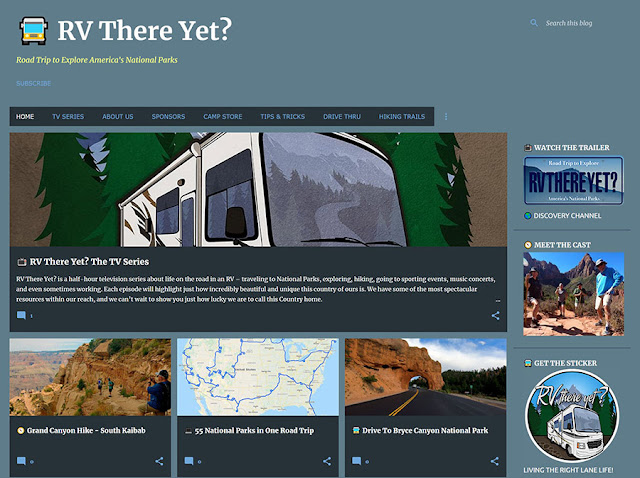 RV There Yet? Website